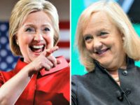 Hillary and Meg Whitman