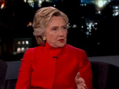 Hillary Dismisses Health Questions on Kimmel — 'It Is Part of the Wacky Strategy'