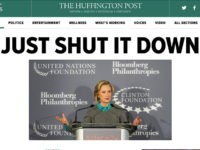 Huff-Post-Clinton-Foundation-Headline