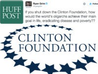HuffPo's Ryan Grim Heckles the Clinton Foundation on Twitter: 'Think of the Oligarchs!'