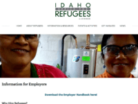 Idaho Office for Refugees Web Page