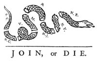 Join or Die (Donkey Hotey / Flickr / CC)
