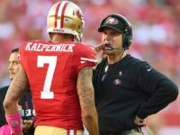 Jim Harbaugh Slams Colin Kaepernick over Refusal to Stand for National Anthem