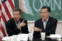 Kasich and Romney Jae C. Hong:AP