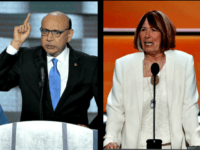 Khizr Khan and Pat Smith Getty