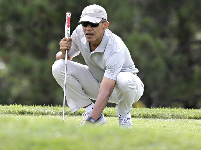 Obama Focused on Golf AP