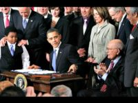 Obama Signs Obamacare Getty