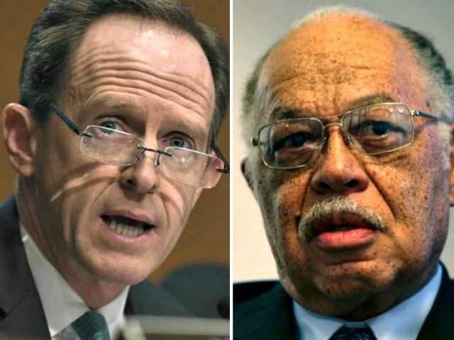Pat Toomey and Kermit Gosnell AP