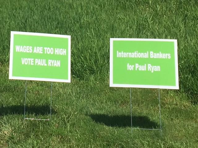 Paul-Ryan-Globalist-Signs
