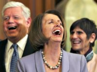 Pelosi Horse Laugh AP