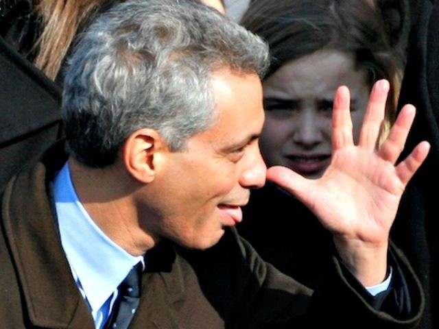 Rahm Emanuel nah nah Jim Young:Reuters