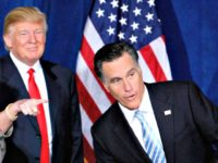Romney Trump Reuters Steve Marcus