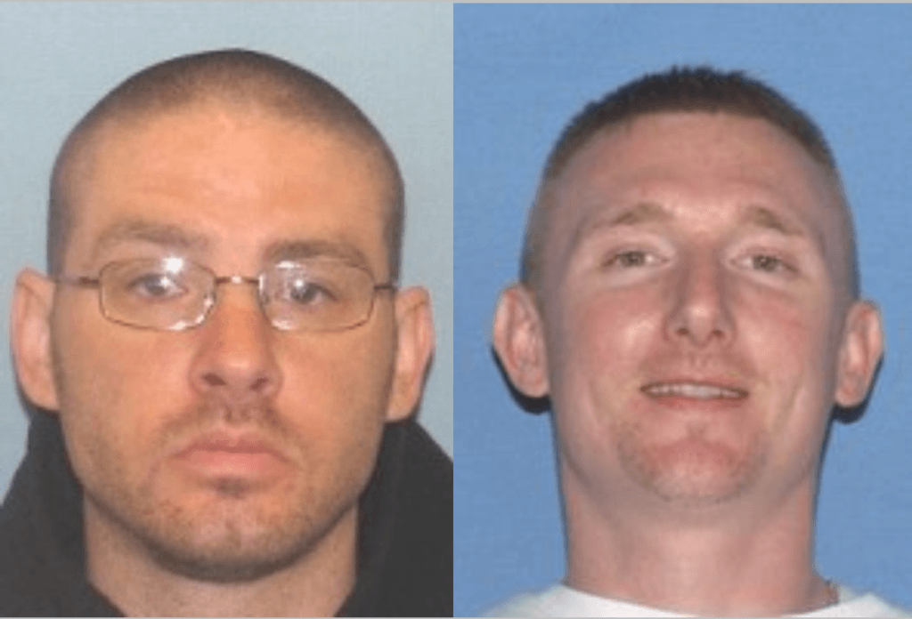 ames D. Nelson II (L) and Jesse D Hanes (R) mugshots via Ross County Sheriff's Office.