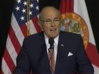 Giuliani to FL Trump Rally: Only Enthusiastic Crowd Hillary Could Draw Would Be a Grand Jury