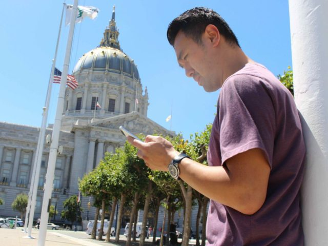San Francisco Pokemon Go (Glenn Chapman / AFP / Getty)