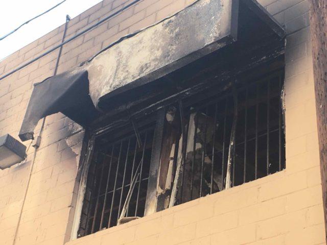 Sanchez arson murder (Adelle Nazarian / Breitbart News)