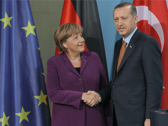 Merkel Erdogan Germany Turkey
