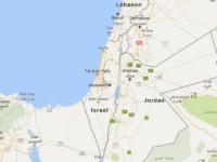 Map of 'Palestine' (Google Maps)