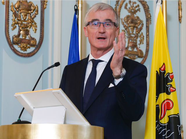 Flemish Minister-President Geert Bourgeois