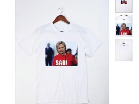 Hillary Digital Director Deletes Tweet Protesting Trump T-Shirts For Men