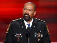Sheriff David Clarke: 'Being Scared Is Not Enough,' Get a Gun to 'Fight Back'