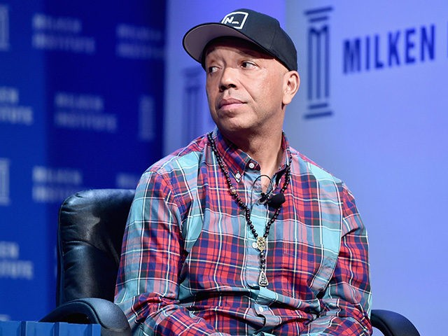 BEVERLY HILLS, CA - MAY 03: Entrepreneur, author, activist and philanthropist Russell Simmons, speaks onstage during 2016 Milken Institute Global Conference at The Beverly Hilton on May 03, 2016 in Beverly Hills, California. (Photo by Alberto E. Rodriguez/Getty Images)