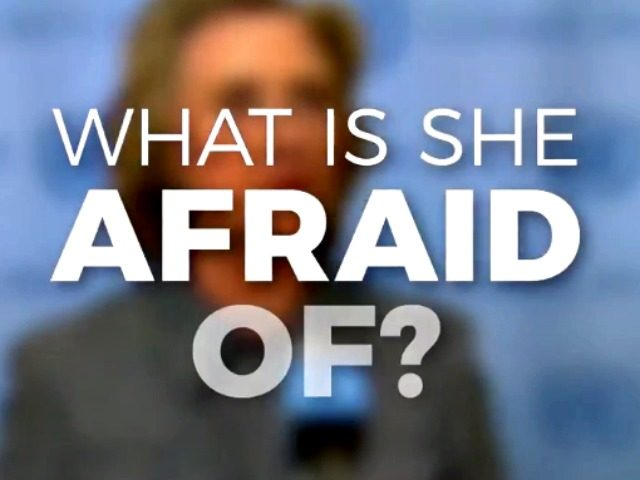 Trump Ad What Is She Afraid Of?