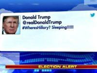 Trump Tweet #WheresHillary