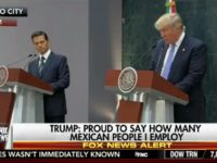 Watch: Donald Trump, Mexican President Enrique Peña Nieto Joint Appearance