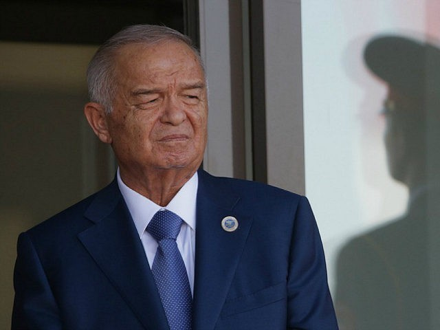 TASHKENT, UZBEKISTAN - JUNE 24, 2016: Uzbekistan's President Islam Karimov at an airport. Mikhail Metzel/TASS (Photo by Mikhail Metzel\TASS via Getty Images)