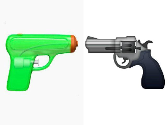 Apple To Replace Handgun Emoji with Water Gun Emoji
