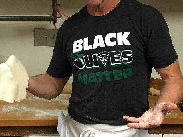 Italian Restaurant Sells 'Black Olives Matter' Merchandise Despite Critics