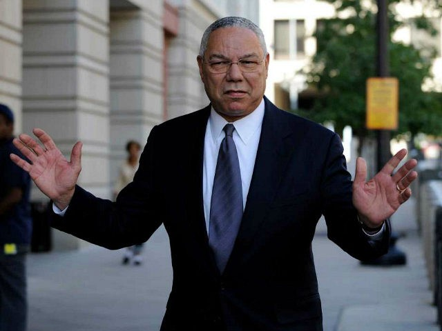 Powell backs Biden for US president