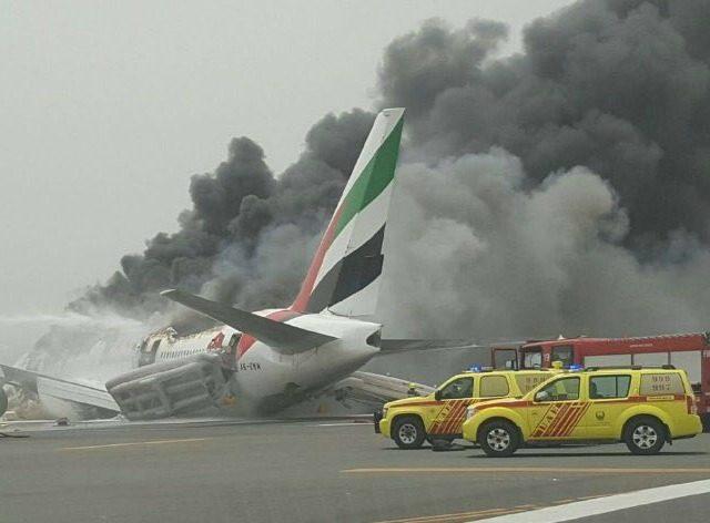 emirates airlines crash