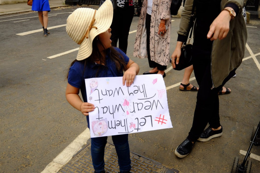 Burkini protest 25 august