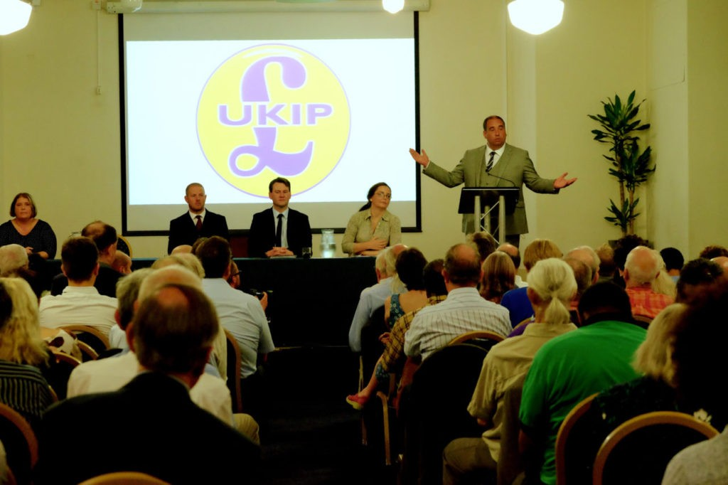 Ukip leadership hustings