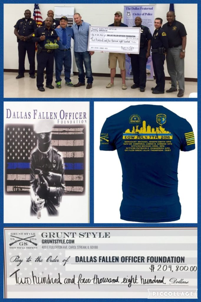 Images: Dallas Fallen Officer Foundation