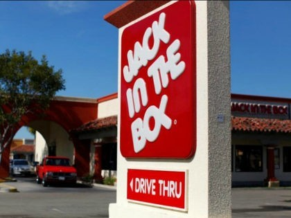 A Jack in The Box drive thru restaurant is pictured in San Marcos, California February 21, 2012. REUTERS/MIKE BLAKE