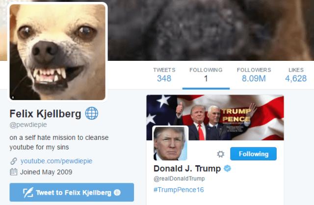 PewDiePie Twitter: YouTube Star PewDiePie Unverified, Suspended On Twitter