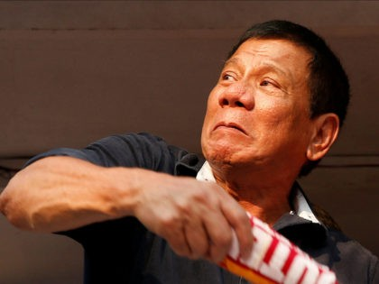 Philippines' Duterte: 'I Am About to Cross the Rubicon with the United States'
