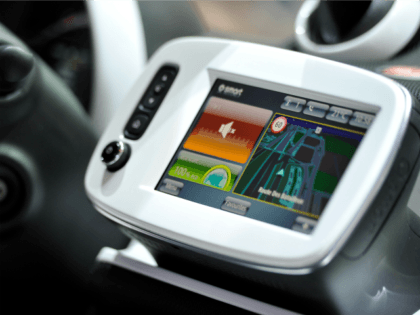A smart in-vehicle infotainment screen is seen during the 85th International Motor Show on March 3, 2015 in Geneva, Switzerland. The 85th International Motor Show held from the 5th to 15th March 2015 will showcase novelties of the car industry. (Photo by Harold Cunningham/Getty Images)