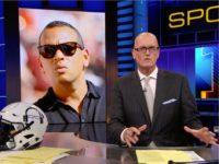 "During the Monday night ""SportsCenter"" broadcast on ESPN, host Scott …"
