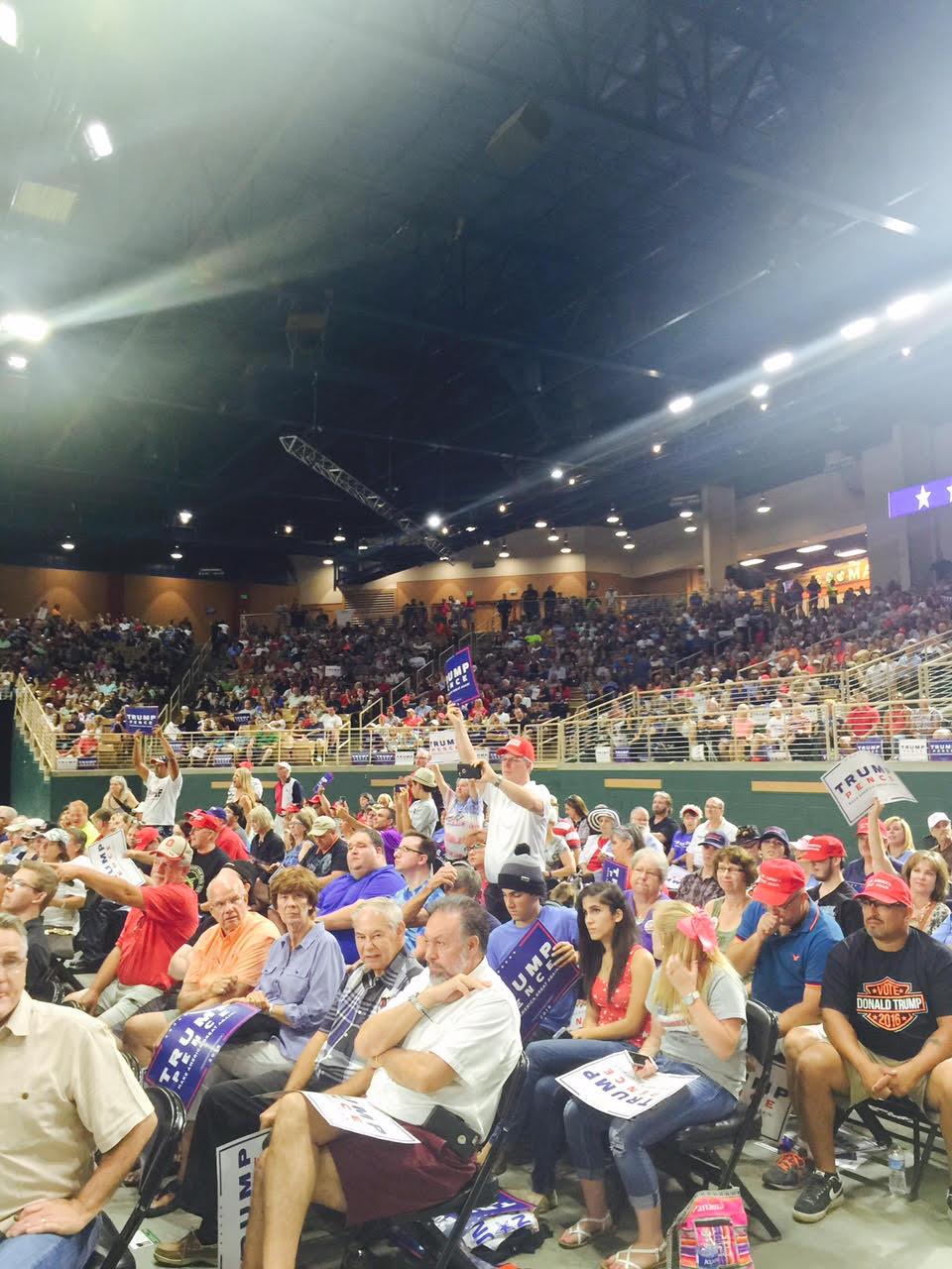 Trump Slams Hillary And Obama Lights Up Crowd At Florida
