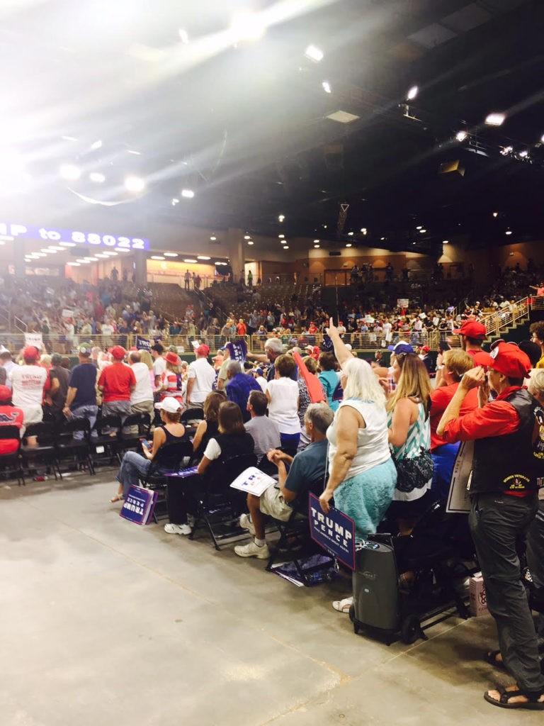 Trump Rally Crowd, 8/11/16 (2 of 4)