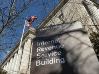 The exterior of the Internal Revenue Service building in Washington March 22, 2013. (Susan Walsh/AP)