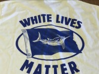 'White Lives Matter' Marine Wildlife Conservation T-Shirts Anger NAACP