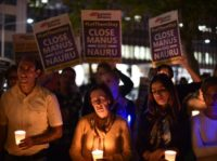 Under Canberra's current policy, asylum-seekers arriving by boat are sent to the remote Pacific island of Nauru or Papua New Guinea's Manus Island even if they are refugees