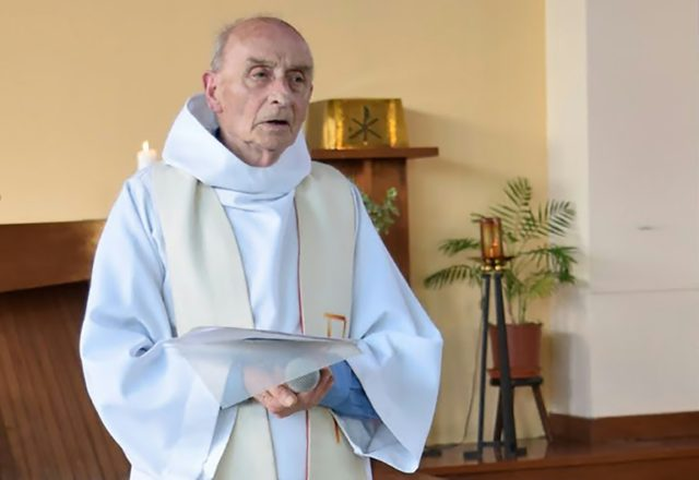 Father Jacques Hamel was killed in a brutal jihadist attack at his church in Saint-Etienne-du-Rouvray, northern France on July 26