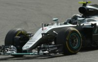 Mercedes driver Nico Rosberg of Germany competes in the Belgian Grand Prix at the Spa-Francorchamps circuit on August 28, 2016