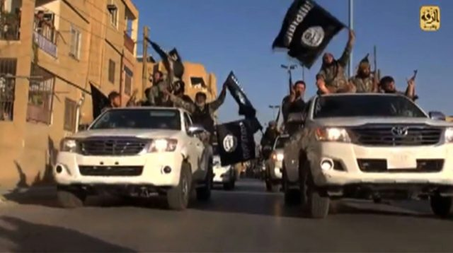 The Islamic State group formed a self-declared caliphate after seizing a swathe of territory across Iraq and Syria in 2014
